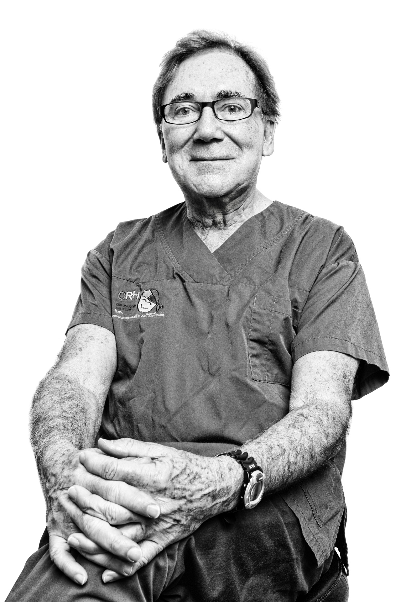 Sydney portrait photographer, personal branding, head shots, corporate photography, Surgeon, charity