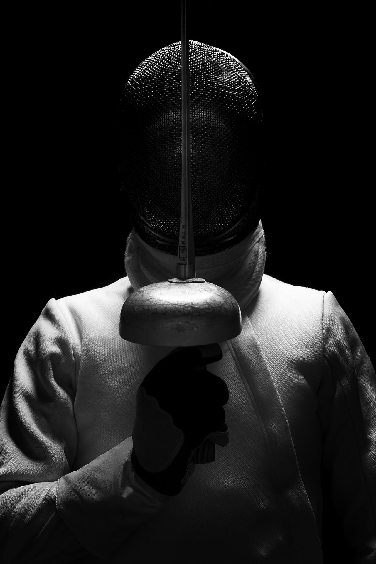 Sydney portrait photographer, personal branding, head shots, corporate photography, sport photography, fencing, Olympics