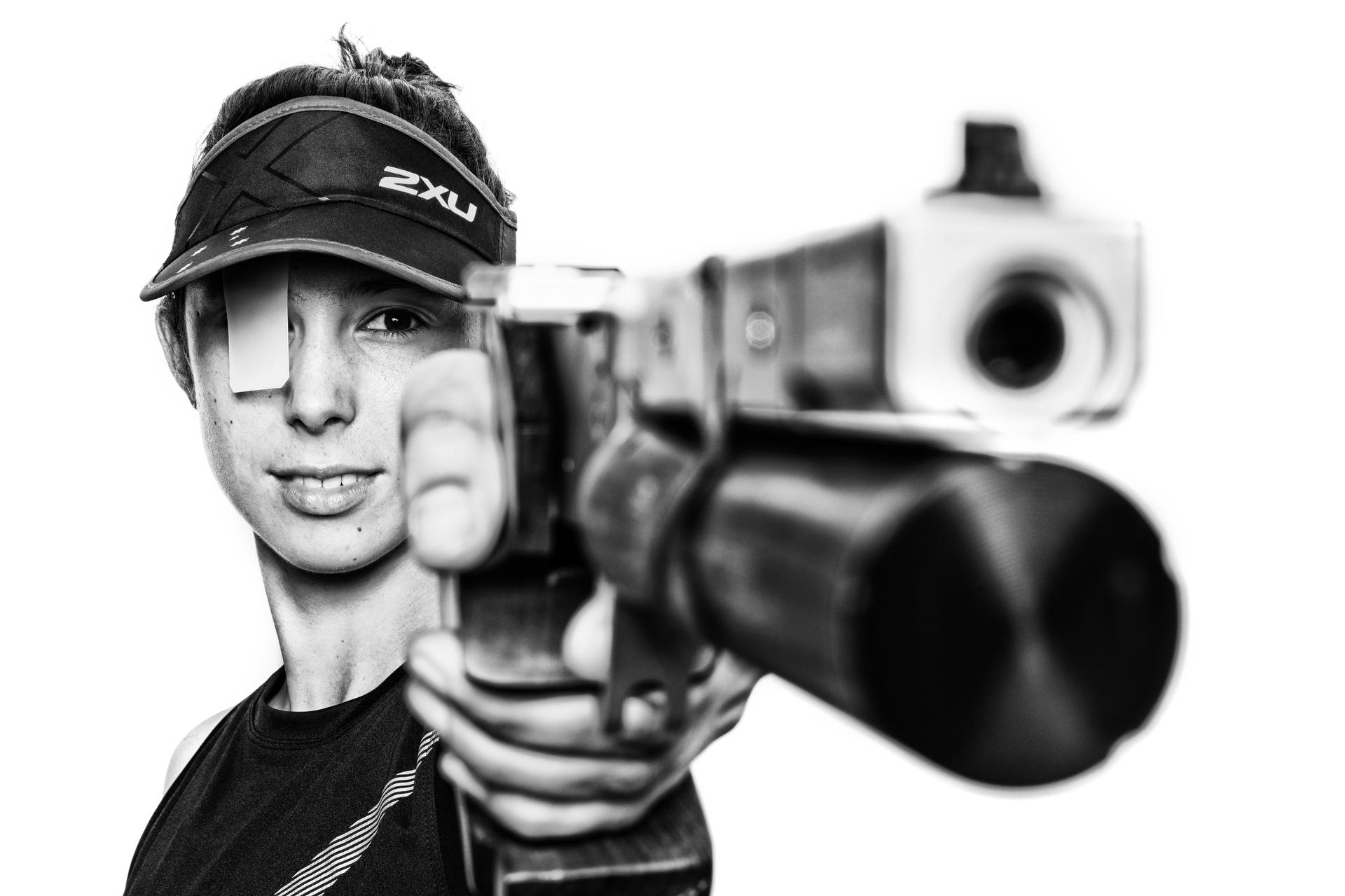 Sydney portrait photographer, personal branding, head shots, corporate photography, Olympics, modern pentathlon, shooting