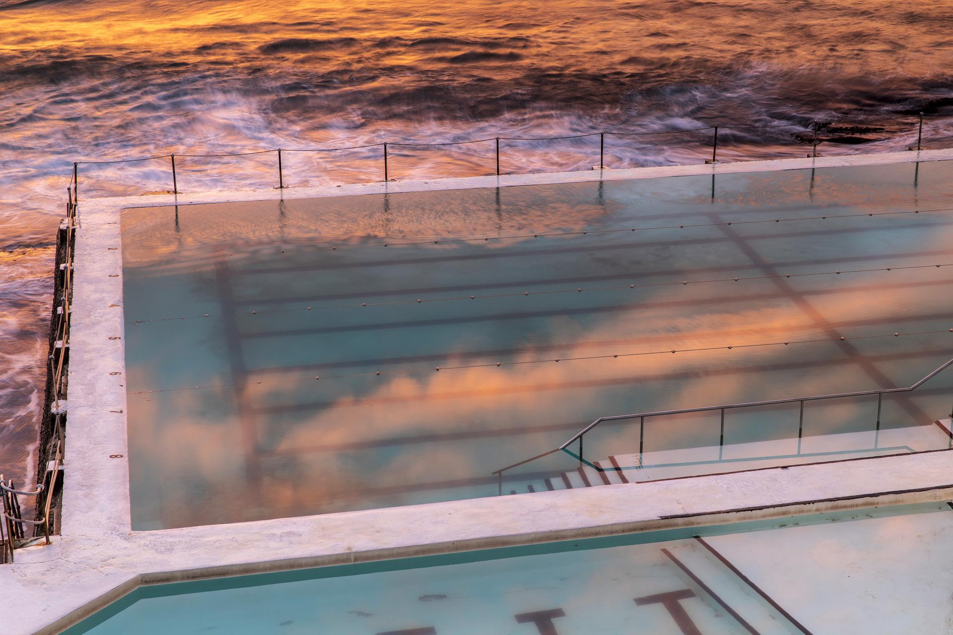 Sydney landscape photographer, sunrise, sunset, ocean, ocean pool, landscape, award winning, travel, NSW, Australia, sea, fine art prints, While you were sleeping, Bondi, icebergs