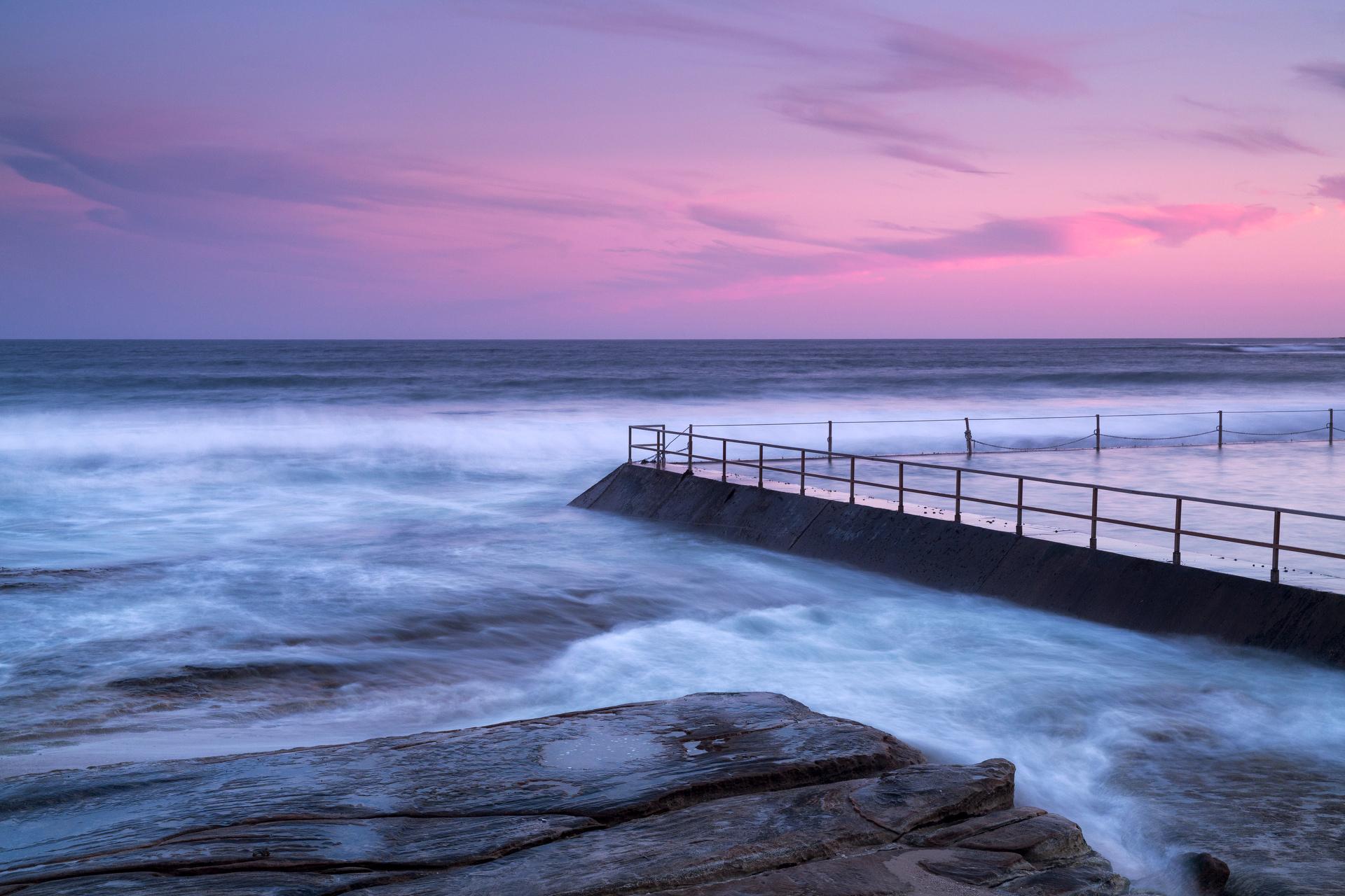 Sydney landscape photographer, sunrise, sunset, ocean, ocean pool, landscape, award winning, travel, NSW, Australia, sea, fine art prints, While you were sleeping, Cronulla
