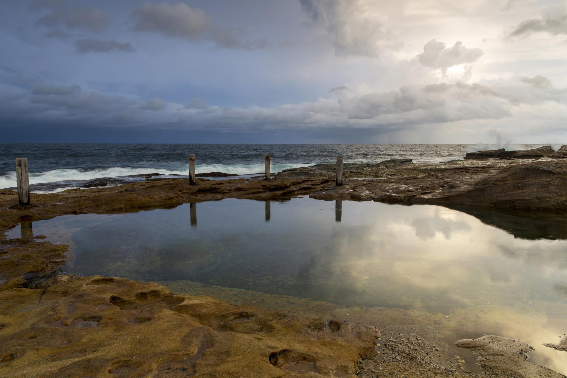 Sydney landscape photographer, sunrise, sunset, ocean, ocean pool, landscape, award winning, travel, NSW, Australia, sea, fine art prints, While you were sleeping, coogee