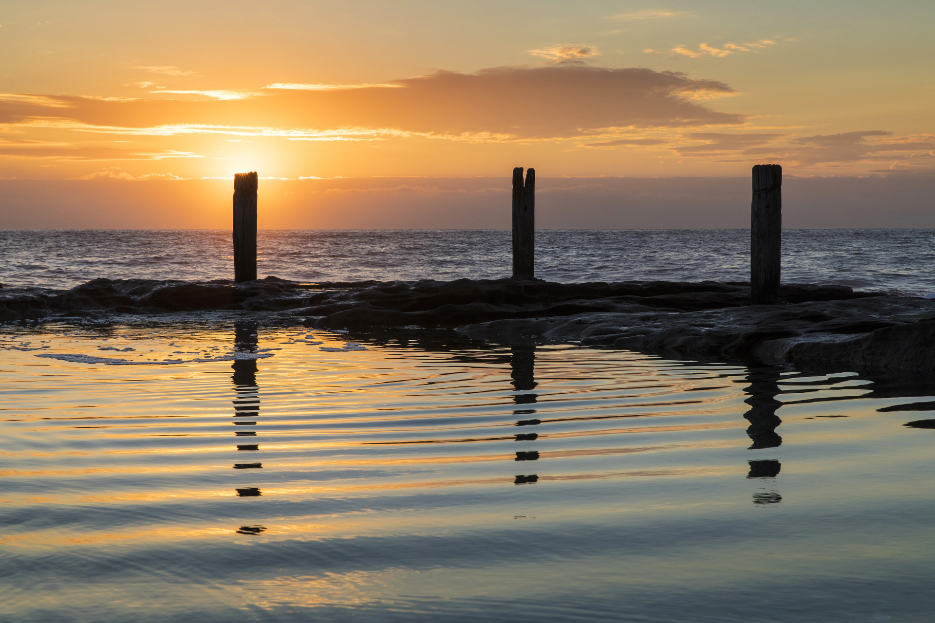 Sydney Landscape Photographer, Sunrise, Sunset, Ocean, Ocean Pool, Landscape, Award Winning, Travel, NSW, Australia, Sea, Fine Art Prints, Coogee, While You Were Sleeping